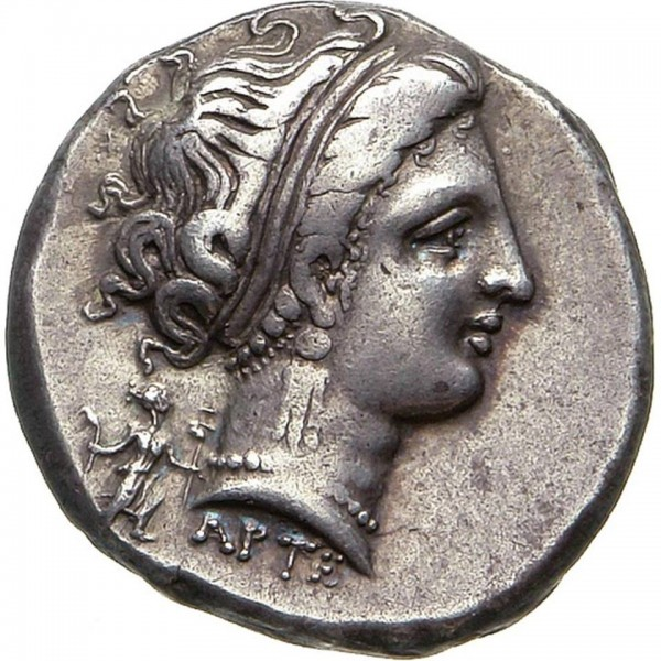 Partenope, numismatica Napoli