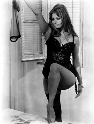 "Sophia Loren in ""Ieri oggi e domani"""