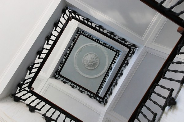 Villa Macrina - scalinata