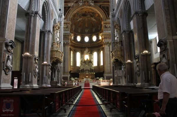 duomo di Napoli, navata centrale
