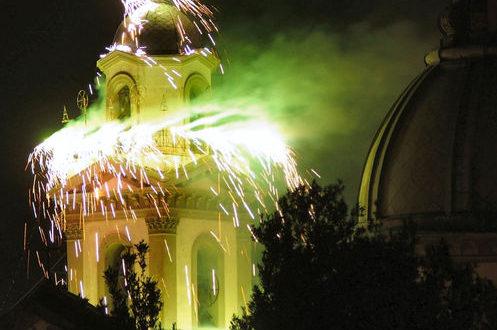 Incendio al campanile, Madonna dell'Arco si prepara per il 140° anniversario