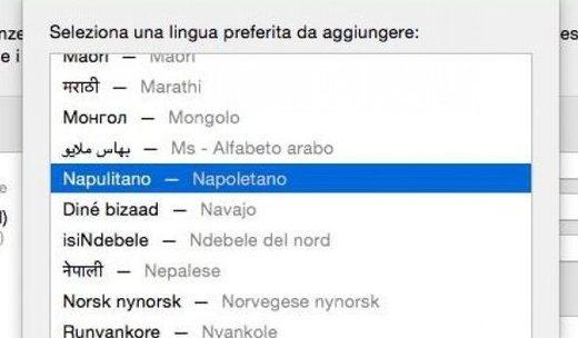 lingua napoletana