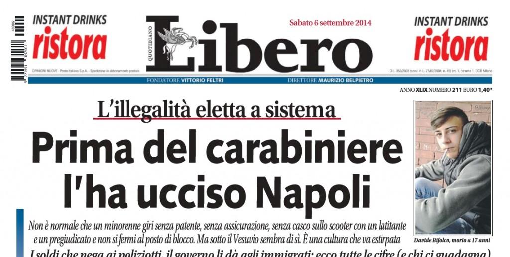 prima del carabiniere l'ha ucciso Napoli