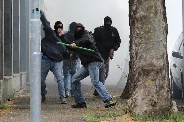 scontri ultras palermo