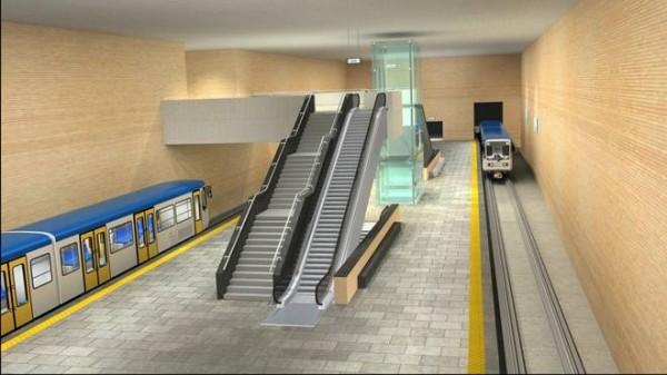 stazione metro muncipio