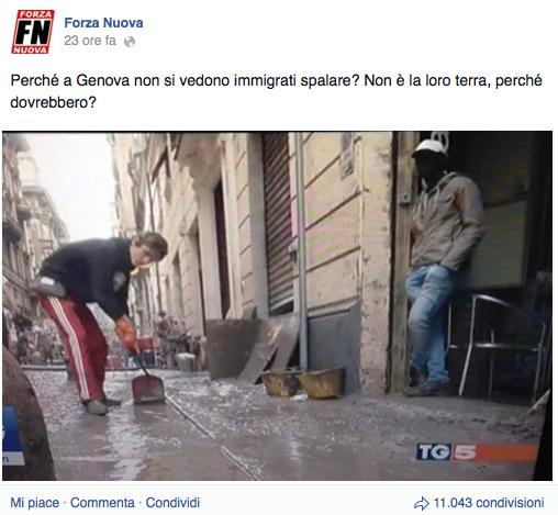 Alluvione di Genova 3