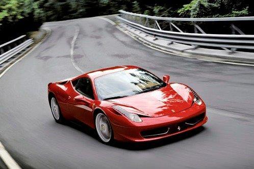 Ferrari 458 del 2012