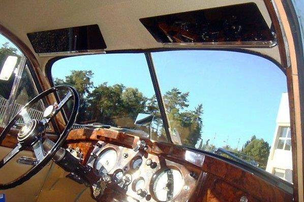 Jaguar XK 140 del 1954 - interni