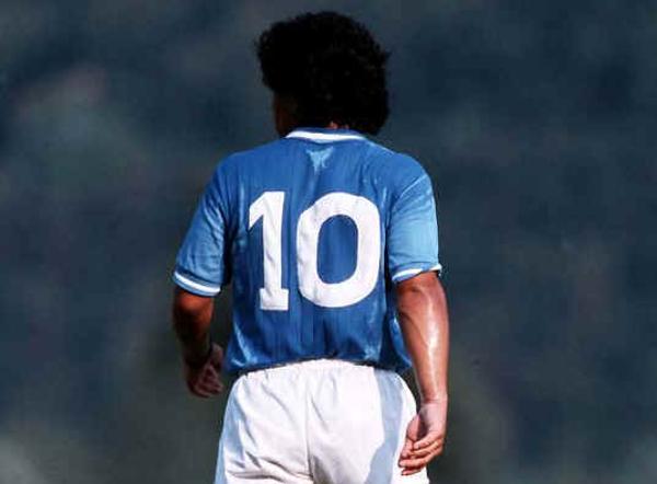Maradona, il numero 10