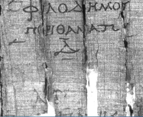 PHerc. 1050, Filodemo, De morte IV