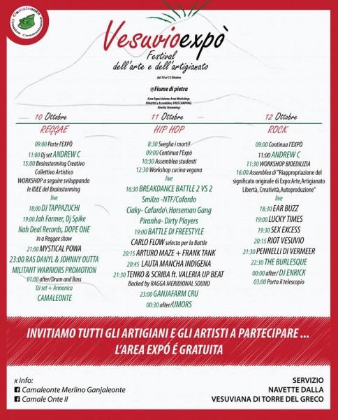 Programma Vesuvio Expo autunno