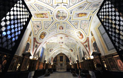 Sacrestia, Sant'Ann dei Lombardi