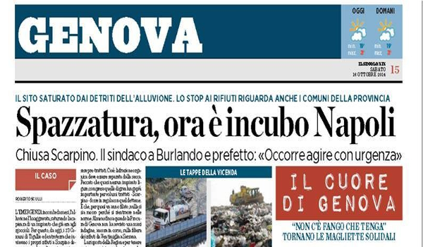 Sputtanapoli - Il Secolo XIX e la spazzatura di Napoli