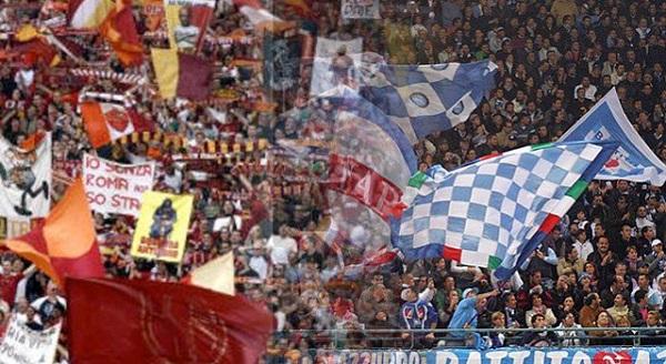 Tifosi Napoli-Roma