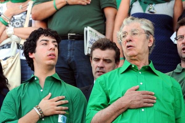Umberto e Renzo Bossi