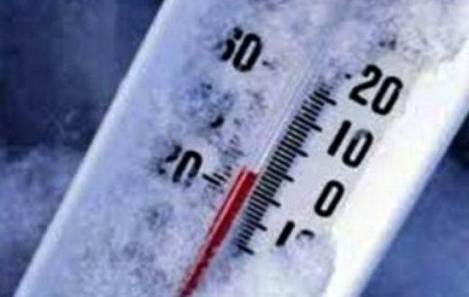 calo della temperatura