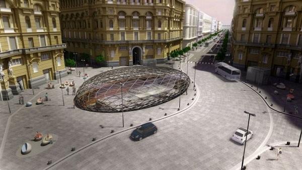 metropolitana 4 palazzi