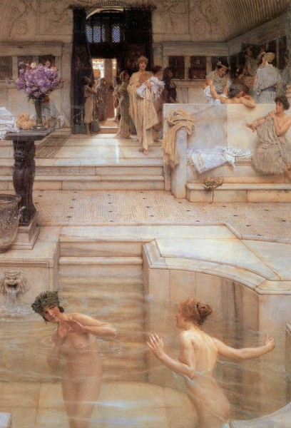 Terme Romane, Lawrence Alma Tadema.