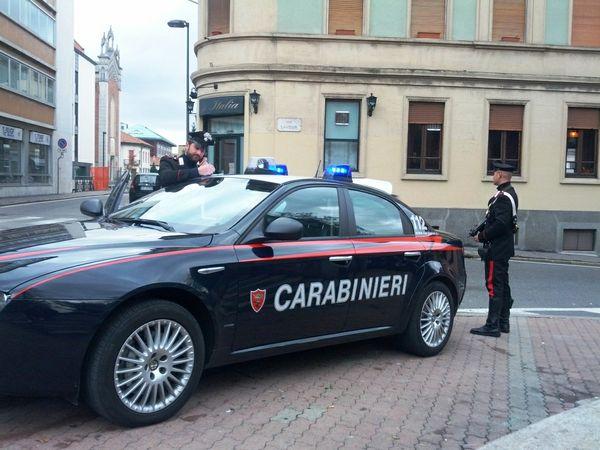 Carabinieri varcaturo