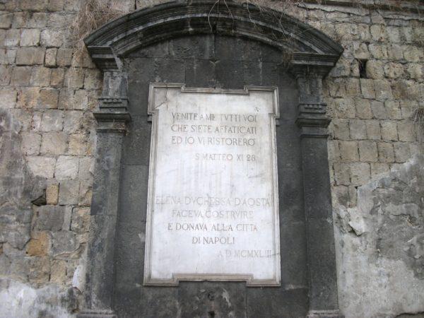 Fontana a calata Capodichino