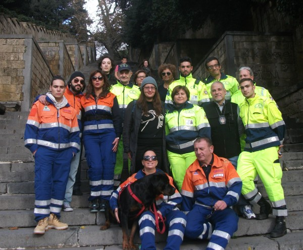 Protezione Civile e membri ProLoco.