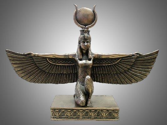Iside alata Egiziana