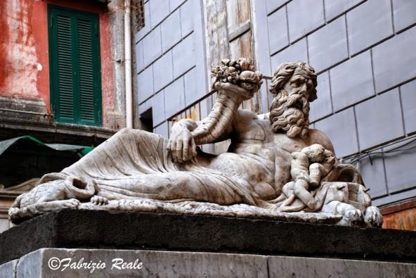 Il corpo di Napoli prima del restuaro