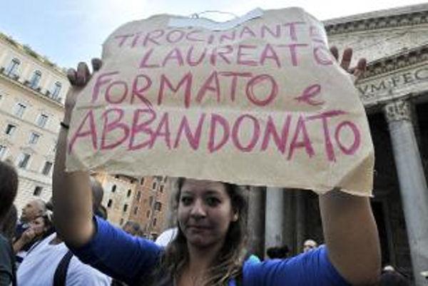 Italia senza lavoro
