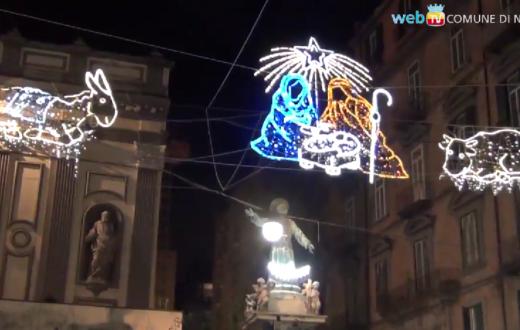 Luminarie di San Gregorio Armeno, Napoli