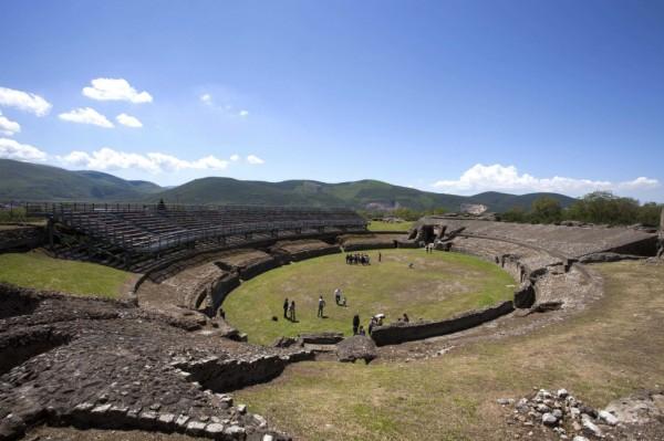Anfiteatro Avella, immagine Scabec