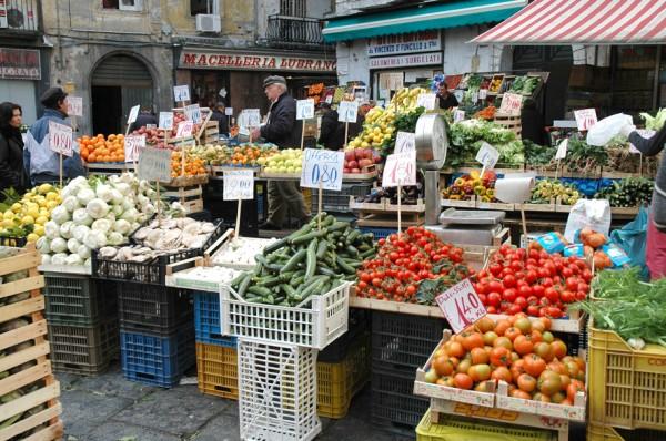 Pignasecca mercato