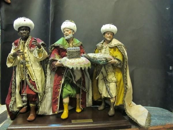Presepe Napoletano Del 700 La Curiosa Figura Del Quarto Re Magio
