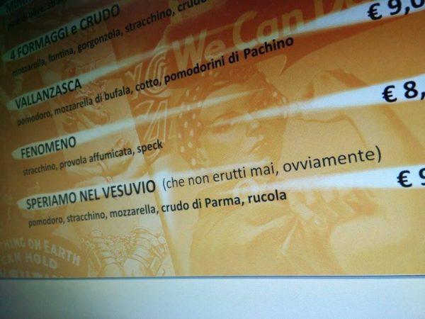 Speriamo nel Vesuvio - Pizza