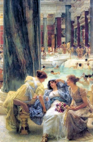 Rappresentazione delle Terme di Caracalla, Lawrence Alma Tadema.