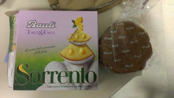 Torta Sorrento Bauli