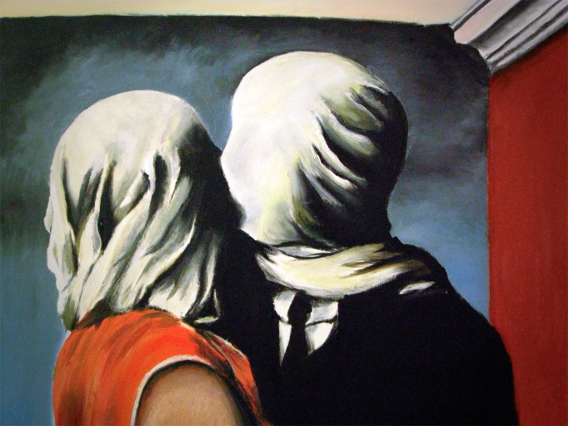 amore criminale - gli amanti magritte