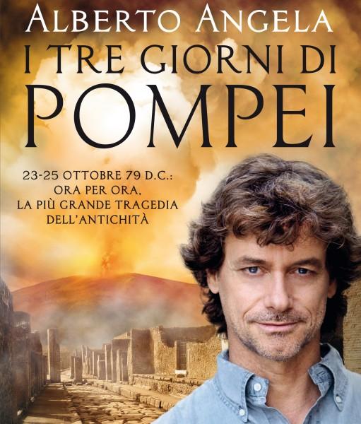 Prima di copertina, I tre giorni di Pompei.