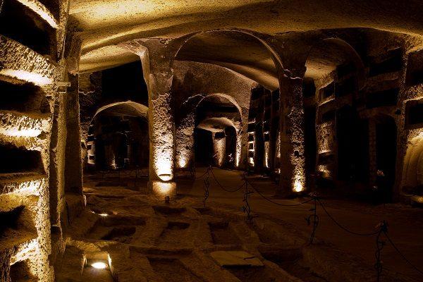 catacombe san gennaro