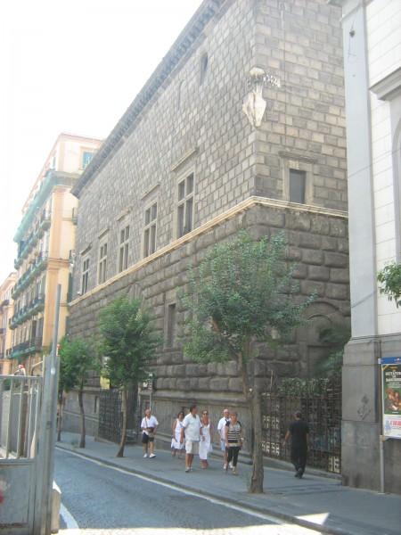 Facciata Palazzo Como.