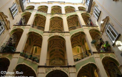 palazzo dello spagnuolo, scalinata ad ali di falco