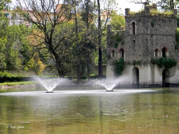 parco, Fontana esedra, Foto peppa guida