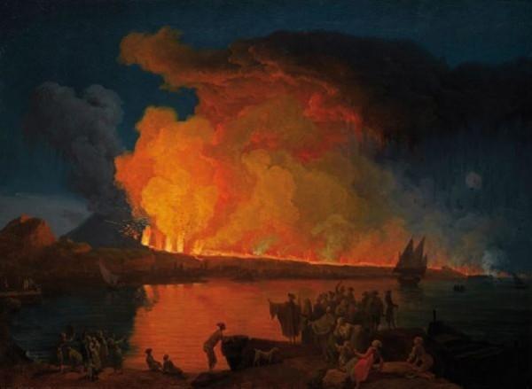 Vesuvio 15 giugno 1794