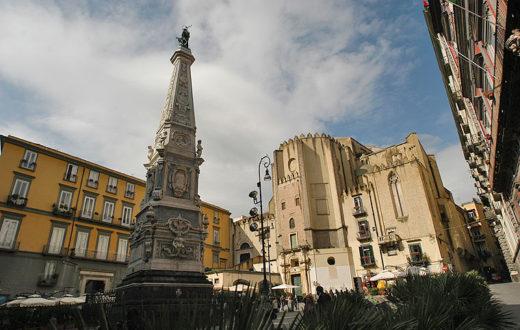 piazza san domenico maggiore, Borghi e sedili di Napoli