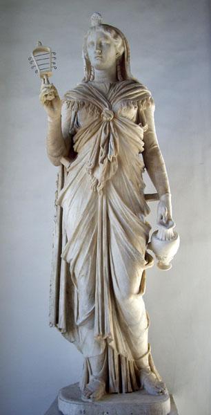 statua di Iside Capitolina