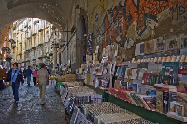 Librerie a Port'Alba.