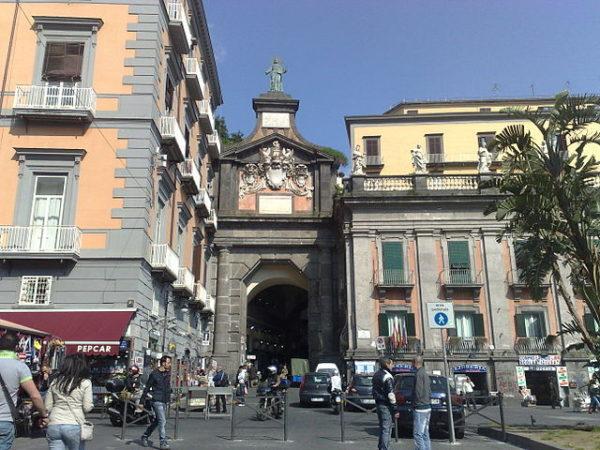 Port'Alba a Napoli.