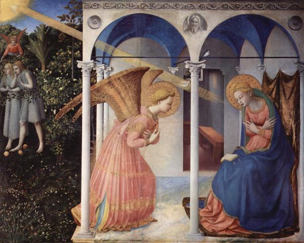 Beato Angelico, Annunciazione - Immacolata Concezione