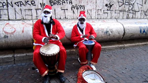 Buon Natale dal centro storico di Napoli