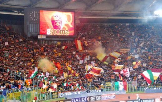 Curva Sud Roma Coro Tifosi