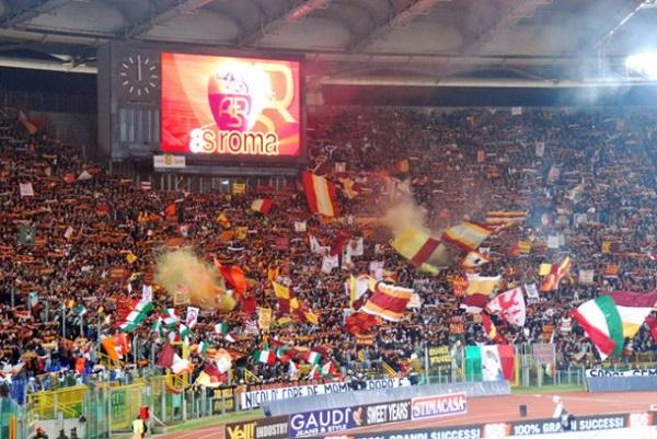 Curva Sud Roma Cori